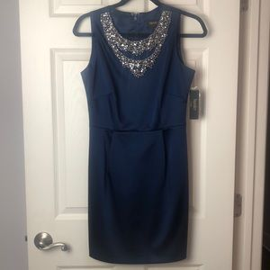 Laundry by Shelli Segal Navy Dress New size 4
